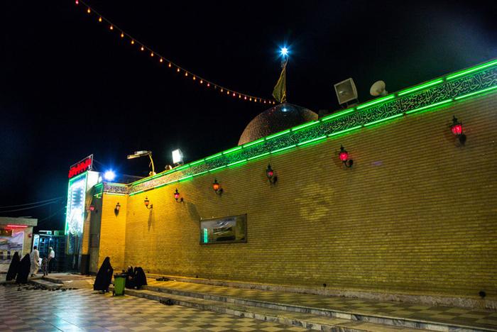 خانه حضرت علی (ع) در کوفه + عکس