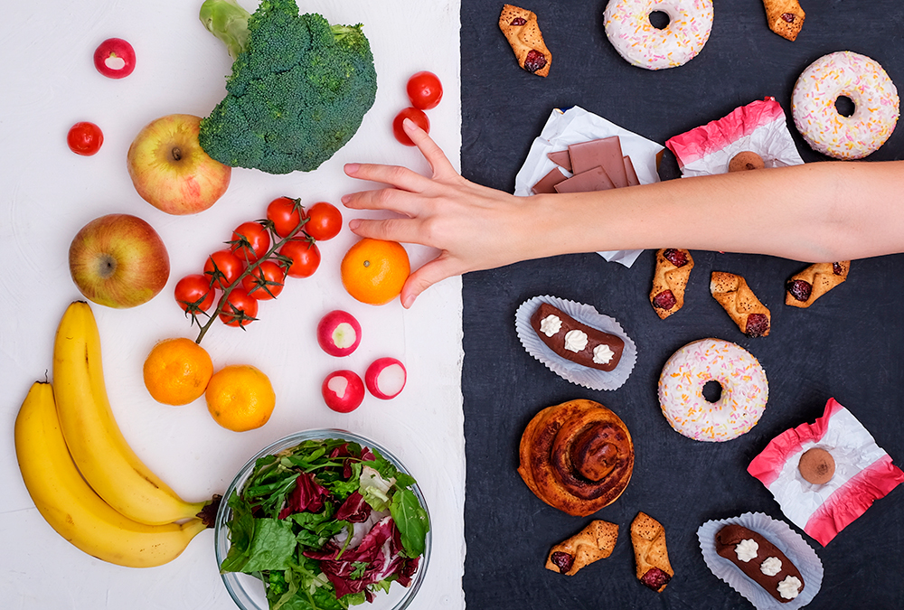 غذاهای خاص برای کاهش فشارهای روانی