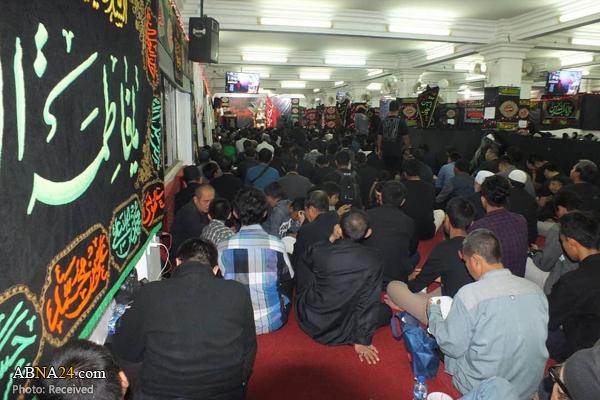 مراسم عزاداری حسینی شیعیان در اندونزی + عکس