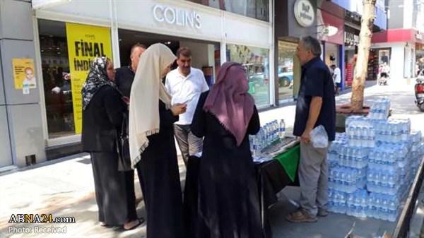 کمپین معرفی امام حسین(ع) در آنتالیا + عکس