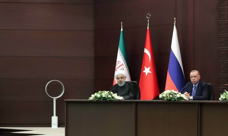 پنکه روحانی در ترکیه! + عکس
