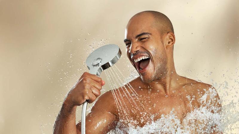 دوش گرفتن شما را سالم و تندرست می کند
