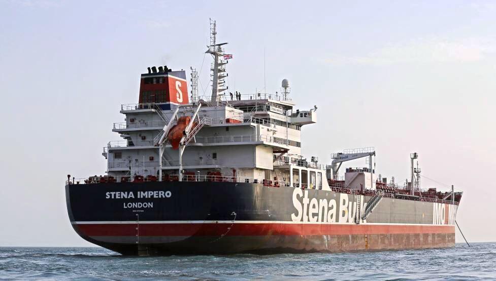 کشتی انگلیسی به زودی رفع توقیف می شود+عکس