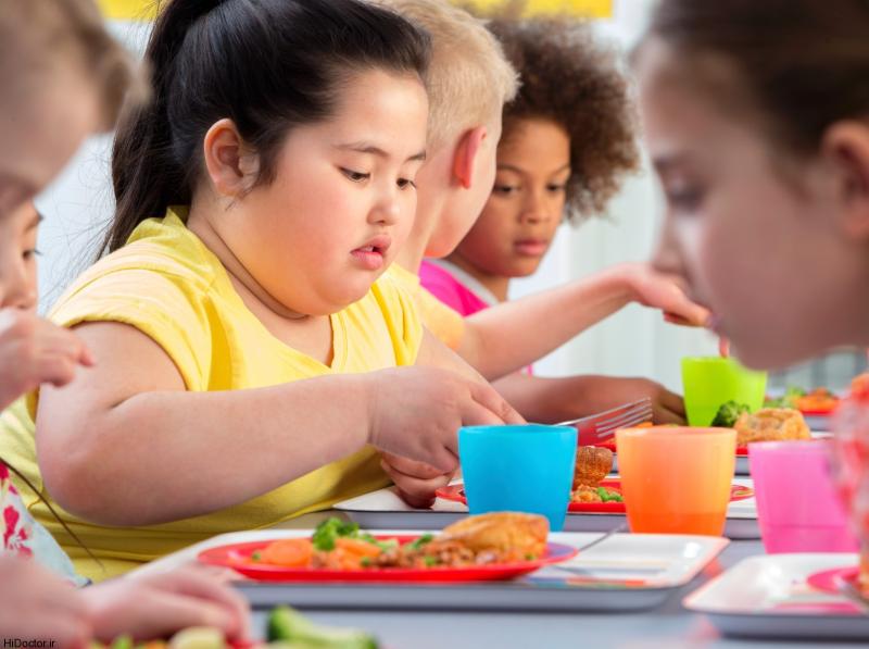 رژيم غذايي سالم از بروز سندرم متابوليك در كودكان جلوگيري ميكند