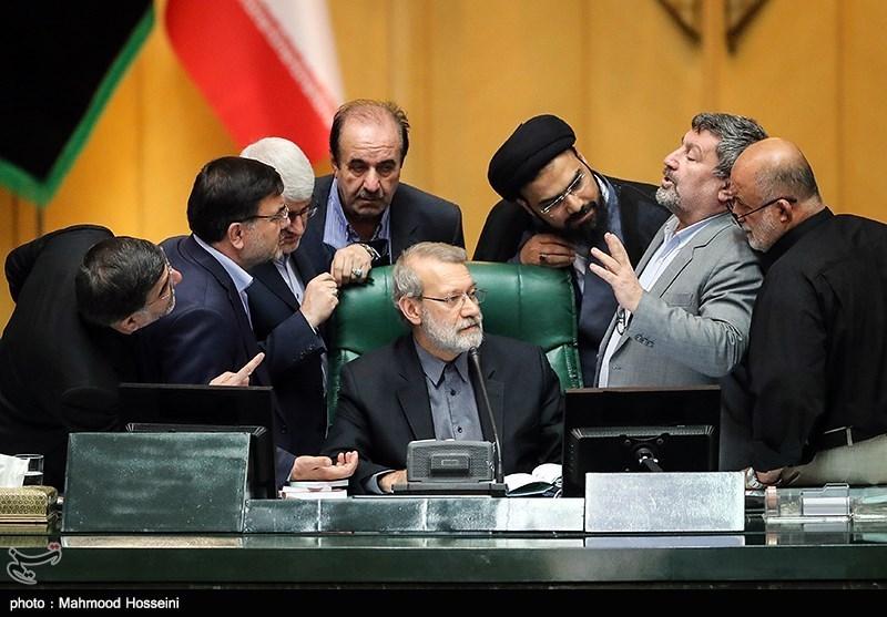 شوخی های نمایندگان در صحن مجلس! + عکس