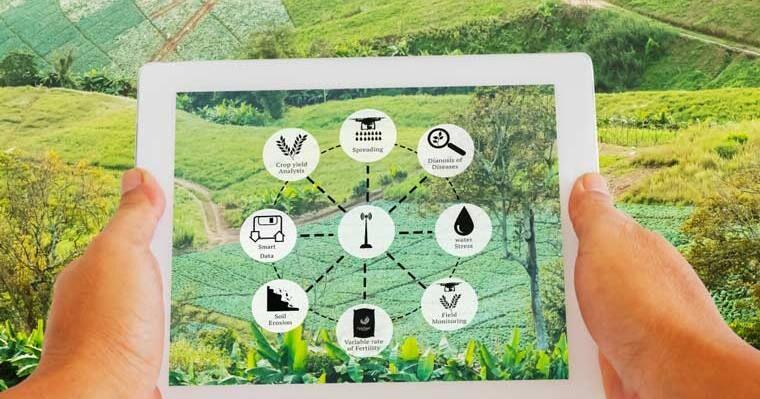 پیشگامی ایران در کشاورزی هوشمند
