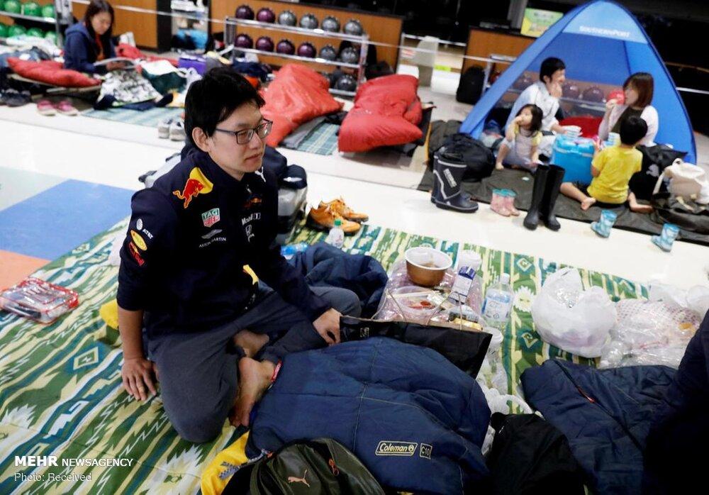 خسارات طوفان مرگبار در ژاپن  + عکس