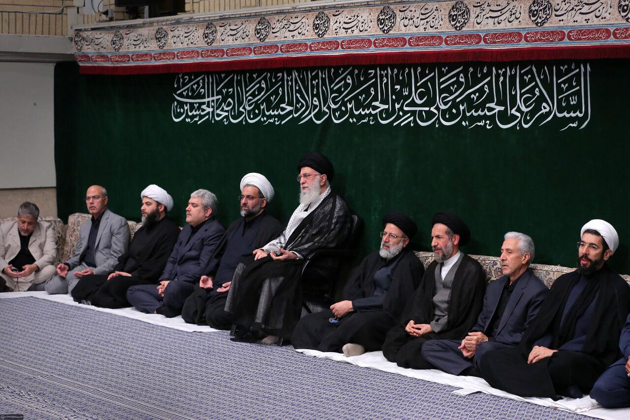 هیاتهای دانشجویی با رهبر معظم انقلاب اسلامی دیدار کردند
