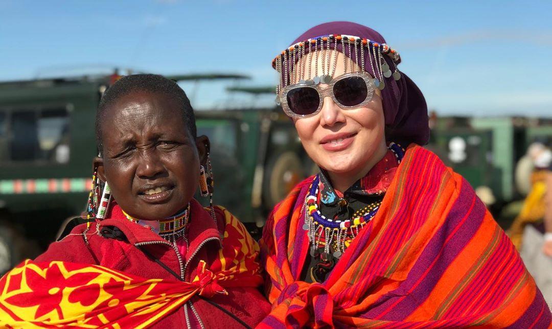 گردش «آرام جعفری» در آفریقا + عکس