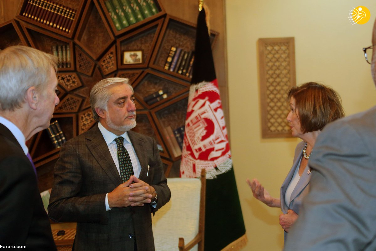 سفر نانسی پلوسی به افغانستان + عکس