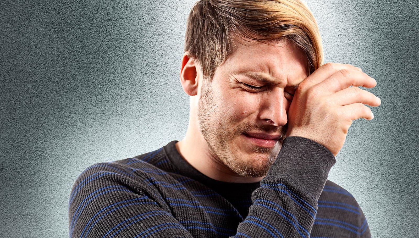 5  مشکلی که با گریه کردن حل می شود