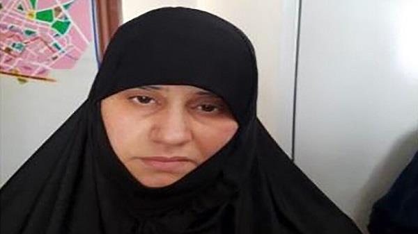 زن ابوبکر بغدادی پس از دستگیری + عکس