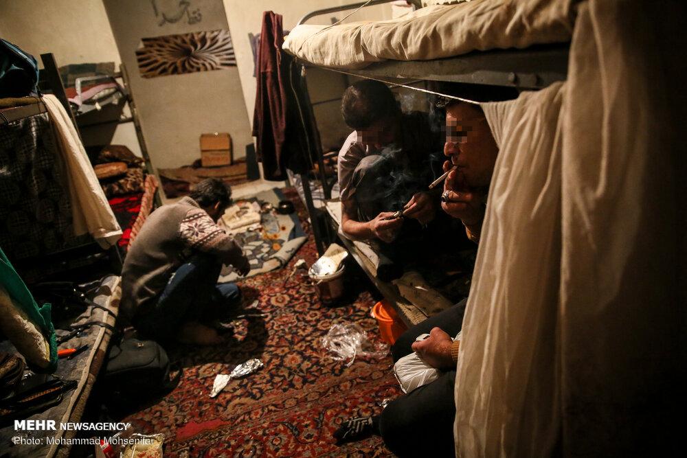 پاتوق خلافکاران در خانه های مجردی + عکس