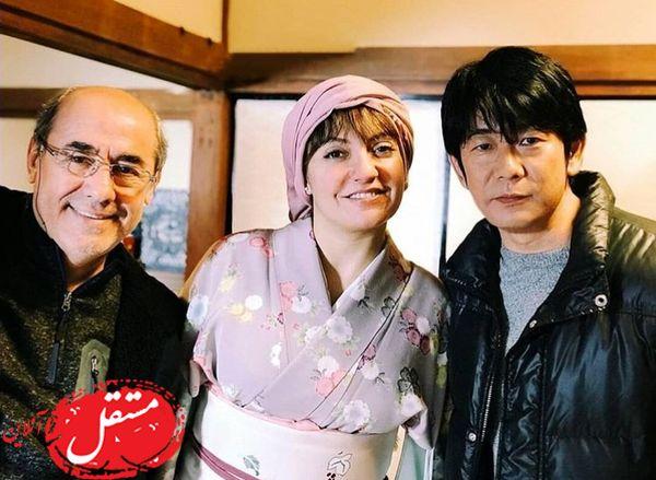 استایل ژاپنی مهناز افشار! + عکس