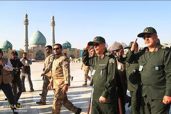ببینید: حضور سرلشکر  باقری در مسجد مقدس جمکران/ امروز