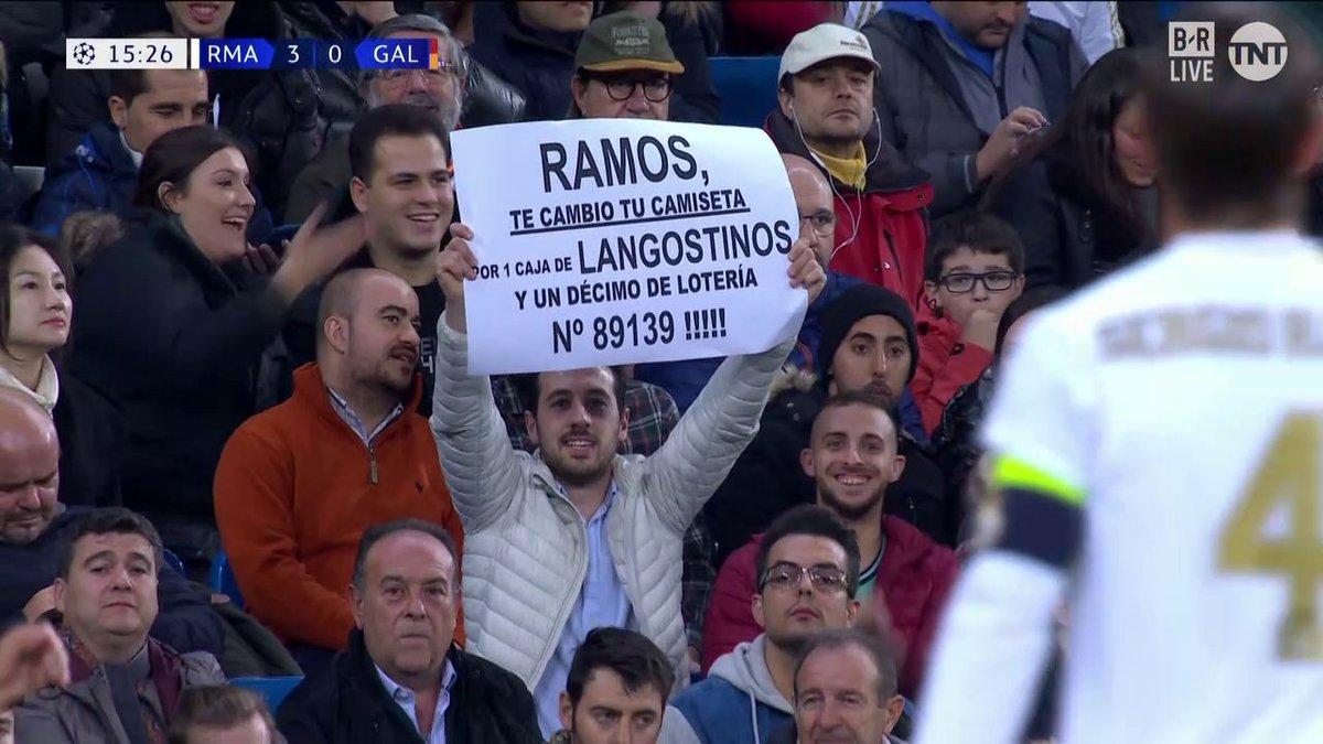 درخواست جالب هوادار رئال از راموس! + عکس