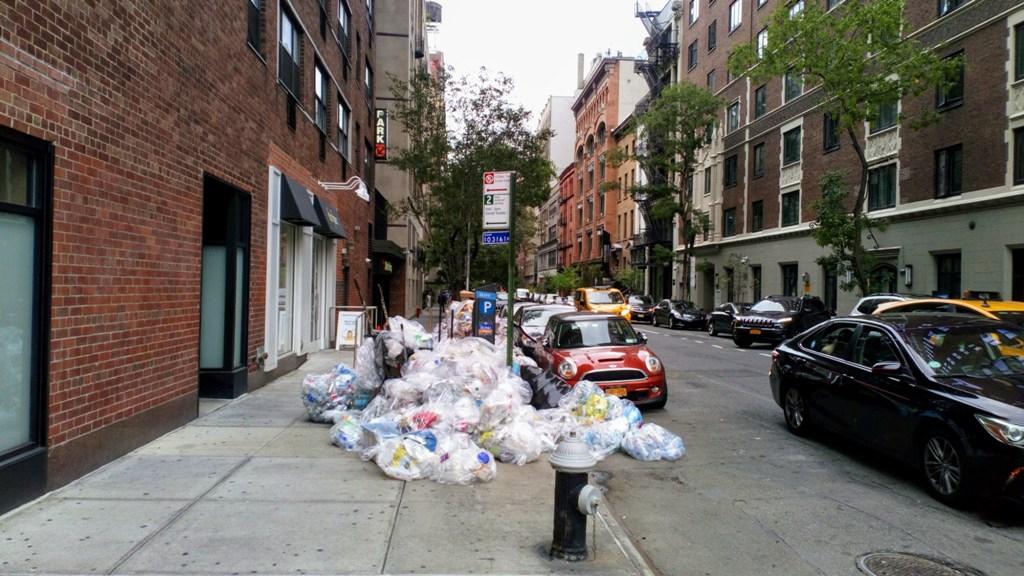 کابوس زباله در نیویورک