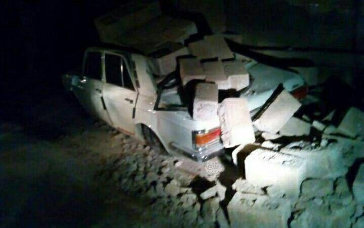 خسارات زلزله نسبتا شدید دیشب در شمال غرب کشور + عکس
