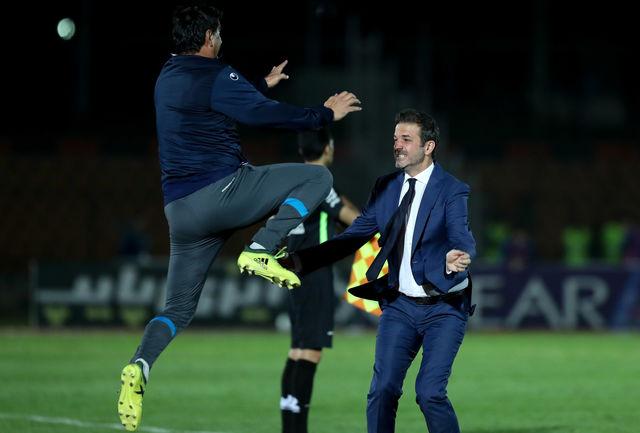 حرکت جالب مربی ایتالیایی؛ استراماچونی معرفتاش را ثابت کرد+ عکس