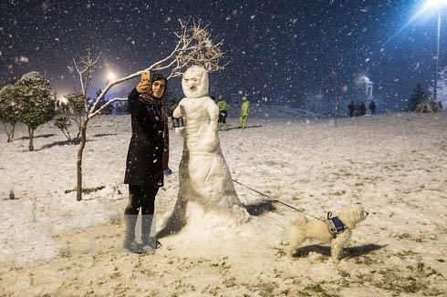آخر هفتهای سرد در کشور / برف سنگین در مناطق شمالی البرز