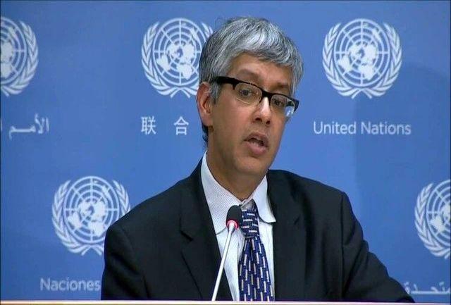 واکنش سخنگوی دبیرکل سازمان ملل به تحریم داروی پروانه ای علیه ایران