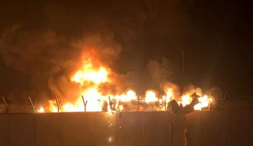 حمله مجدد به ساختمان سوخته کنسولگری  ایران در نجف