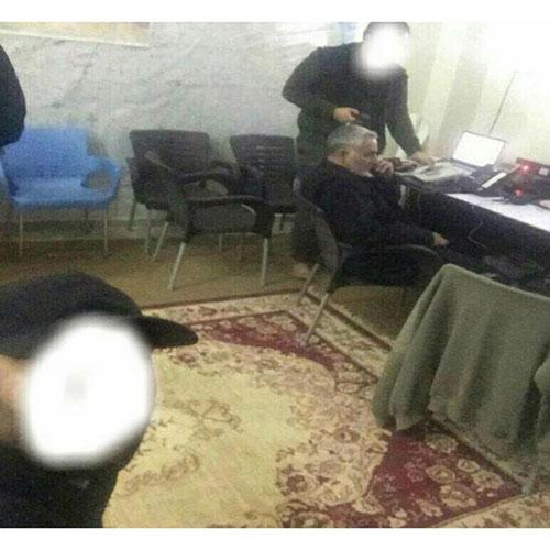 تصویری از میز کار سردار قاسم سلیمانی در سوریه