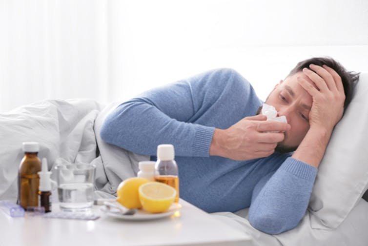 هنگام  بیماری آنفلوآنزا این مواد را مصرف نکنید