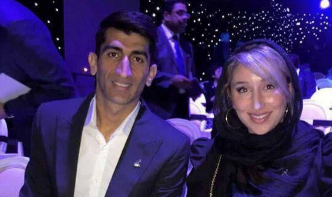 علیرضا بیرانوند و کتایون خسرویار در مراسم بهترین های سال آسیا + عکس