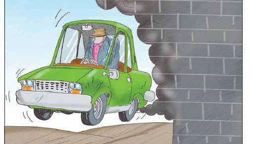 آلودگی هوا و خودروهای تک سرنشین + عکس