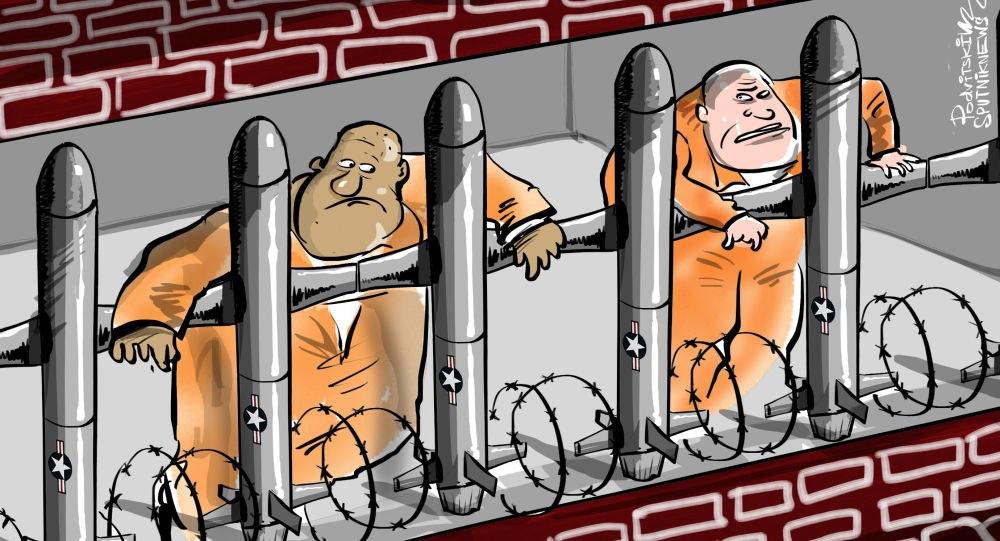 ساخت موشک توسط زندانیان آمریکا + عکس