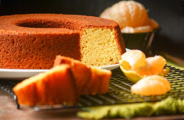 دستورالعمل کیک نارنگی ساده  و سالم