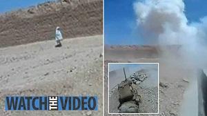 لحظه منفجر شدن کودک افغانستانی در حمله انتحاری + عکس