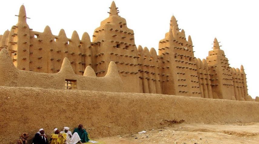 معماری منحصر به فرد مساجد غرب آفریقا