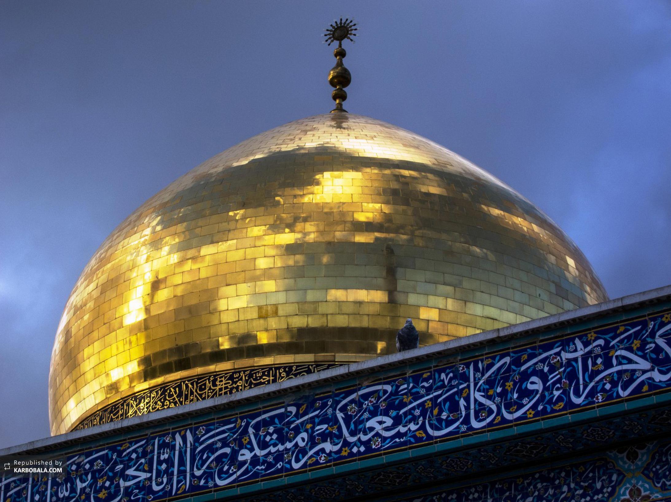 تزئین حرم حضرت زینب(س)  به مناسبت ولادت ایشان
