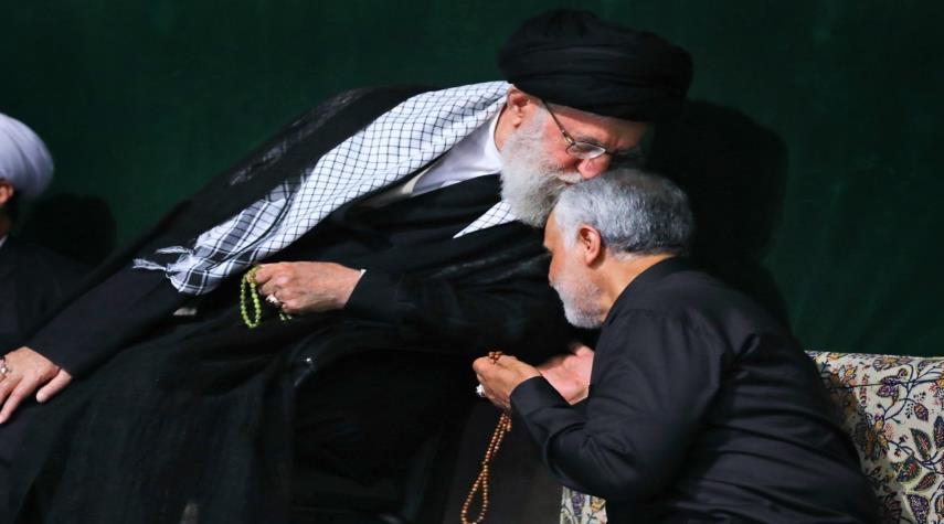پیام رهبر انقلاب در پی شهادت حاج قاسم سلیمانی