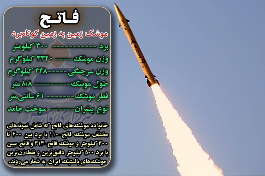 کدام موشک ایرانی پایگاه عینالاسد را هدف قرار داد؟ +تصویر و مشخصات