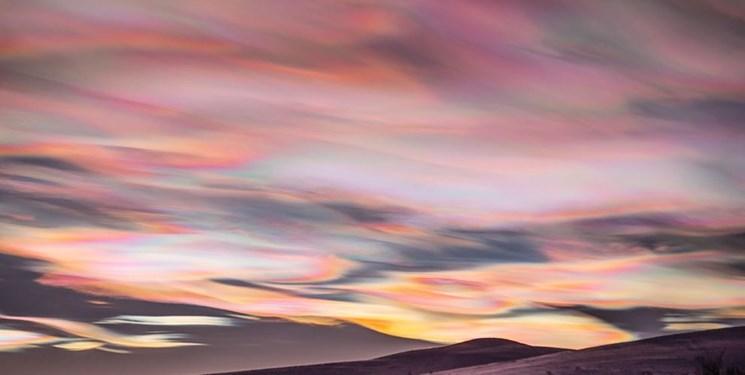 ابرهای ناآرام بر فراز سوئد + عکس