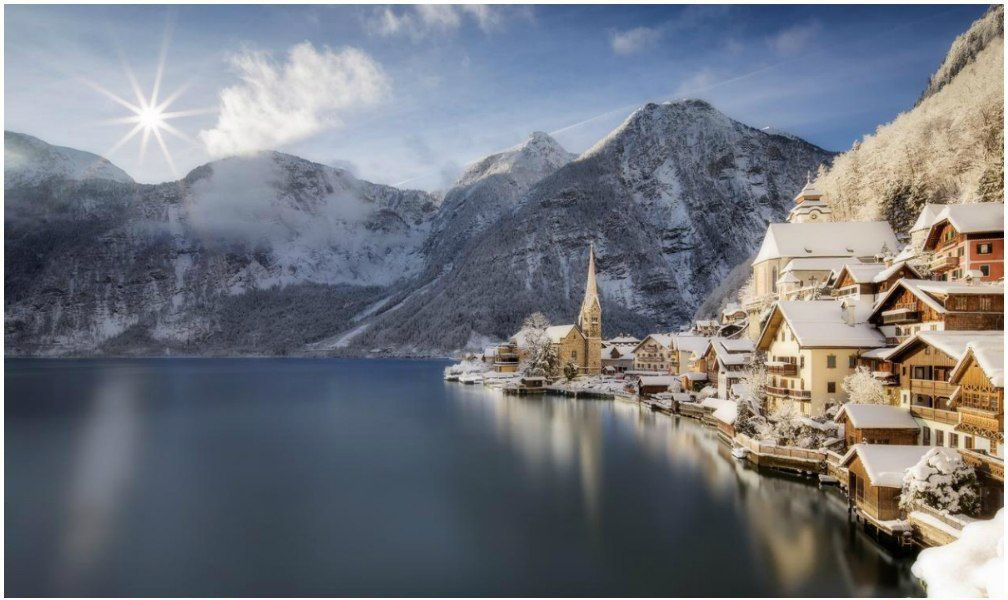 روستای اتریشی به دنبال کاهش توریست! + عکس