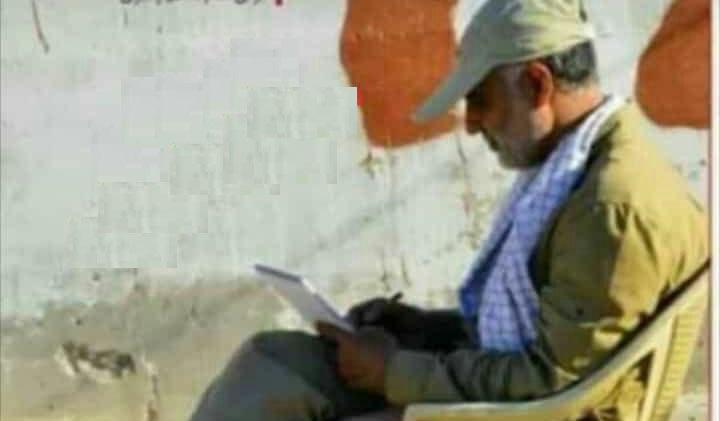 سردار سلیمانی پشت صندلی ریاست + عکس