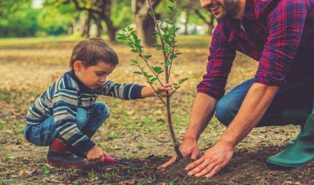 با این ۱۰ روش به فرزندان خود رفتار دوستانهتر با محیط زیست را بیاموزیم