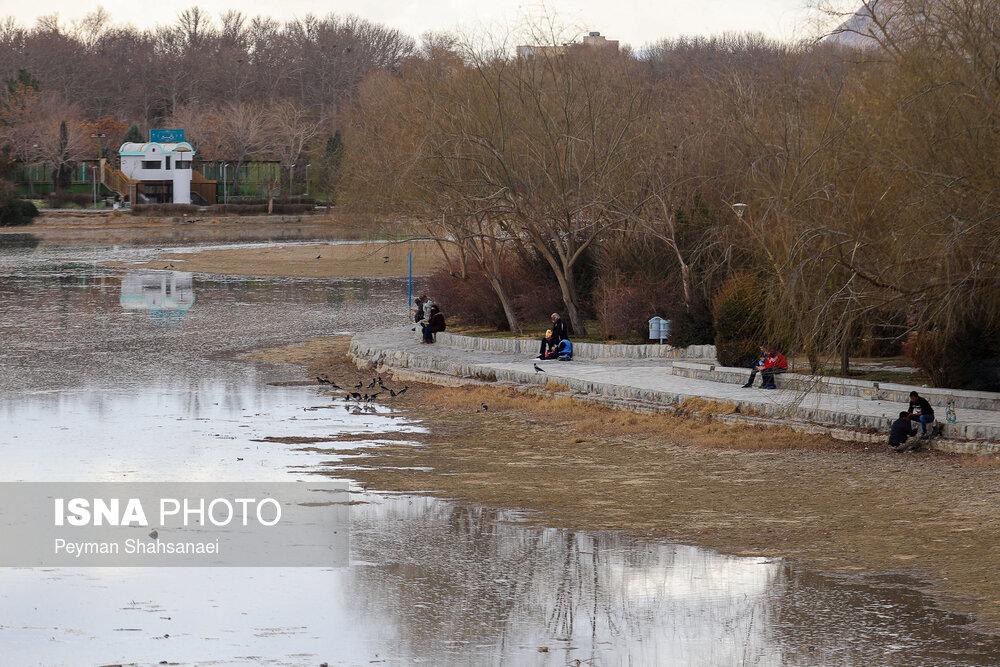 جریان دوباره آب در زاینده رود + عکس