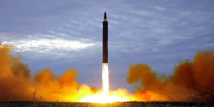 موشک «فالکون 9» را در هنگام پرتاب ببینید+عکس