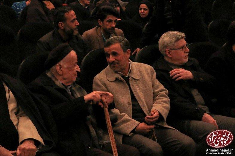 حضور محمود احمدینژاد در سینما! + عکس
