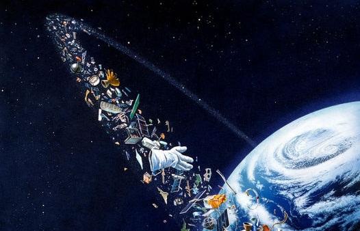 زباله ها در فضا + اینفوگرافیک