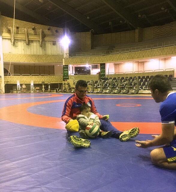اولین حضور فرزند محمد بنا در اردوی تیم ملی + عکس