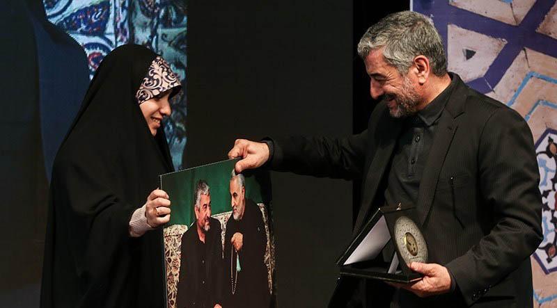 هدیه ای که سردار جعفری را شاد کرد + عکس