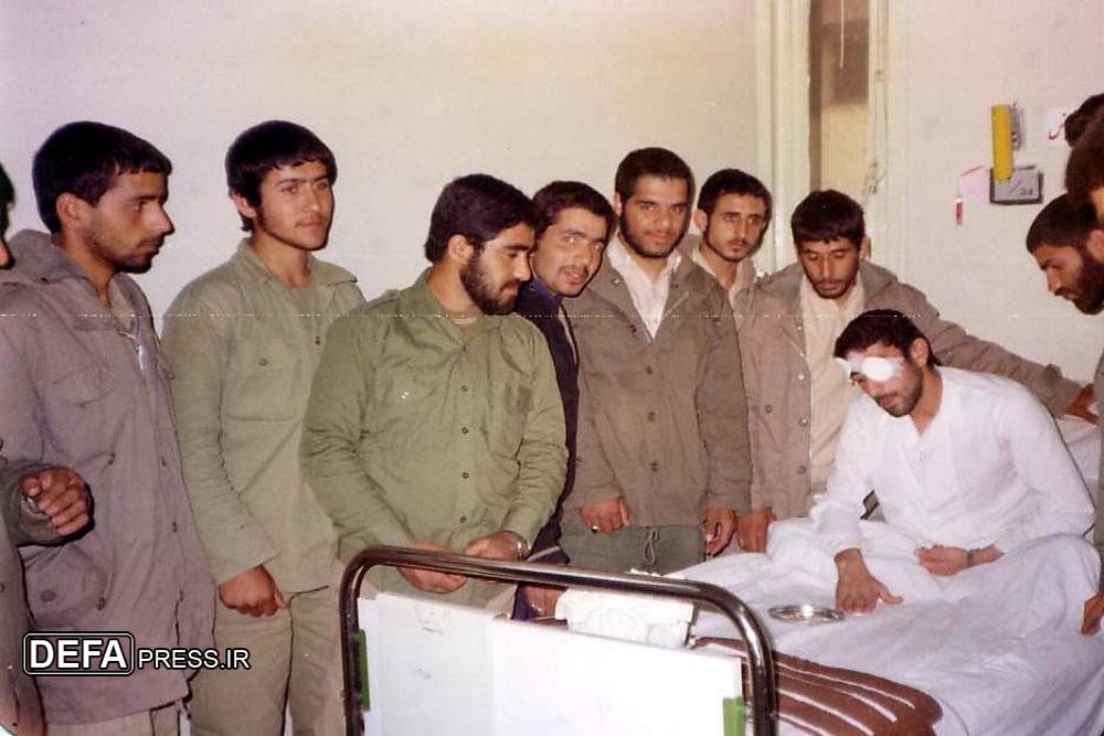 مجروحیت سردار قاآنی در دوران دفاع مقدس + عکس