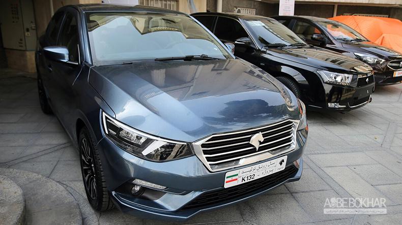 اولین تصویر از محصول جدید ایران خودرو + عکس