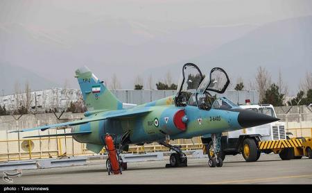 تحویل ۸ فروند هواپیمای نظامی اورهال شده به نیروی هوایی ارتش + عکس
